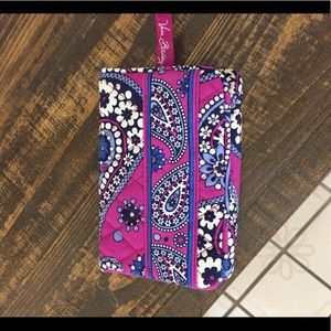 VERA BRADLEY ONE FOR THE MONEY BOYSENBERRY WALLET